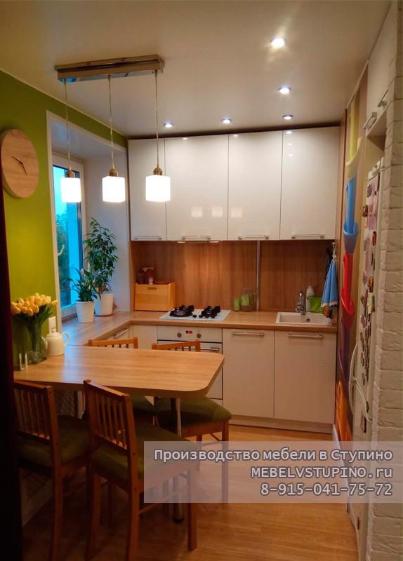 Кухня солнечная (маленькая кухня) - Ступино