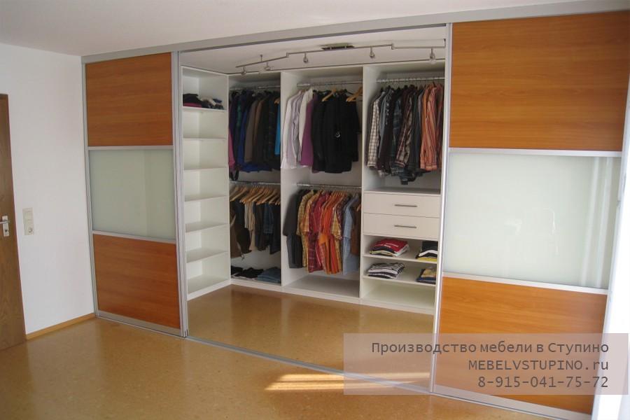 Встроенная гардеробная - производство в Ступино
