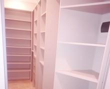 Гардеробная комната на заказ в Ступино